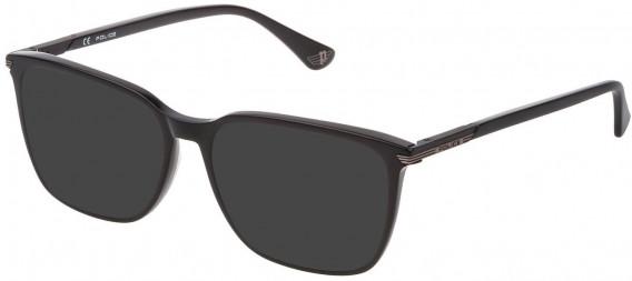 Police VPL792N sunglasses in Shiny Black