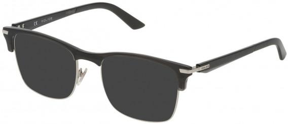 Police VPL701 sunglasses in Shiny Full Palladium