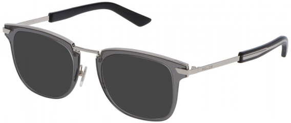 Police VPL566 sunglasses in Shiny Full Palladium