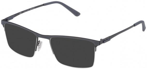 Police VPL564F sunglasses in Shiny Black
