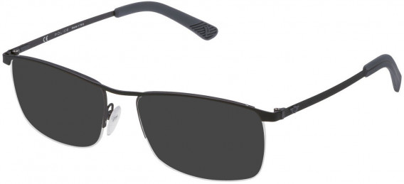 Police VPL470 sunglasses in Matt Gun Metal/Matt Black