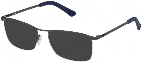Police VPL470 sunglasses in Matt Gun Metal