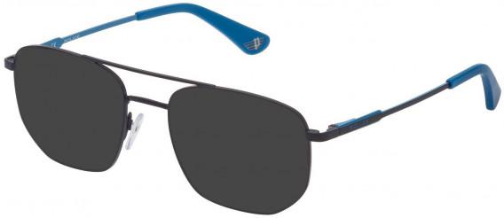 Police VK556 sunglasses in Blue Matt