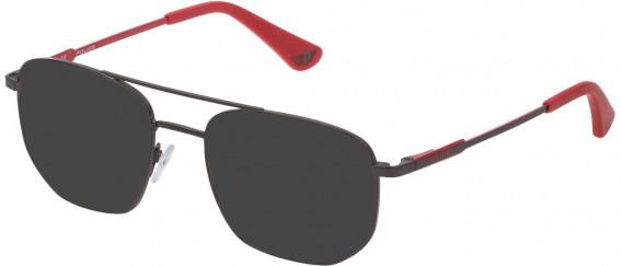 Police VK556 sunglasses in Matt Gun Metal
