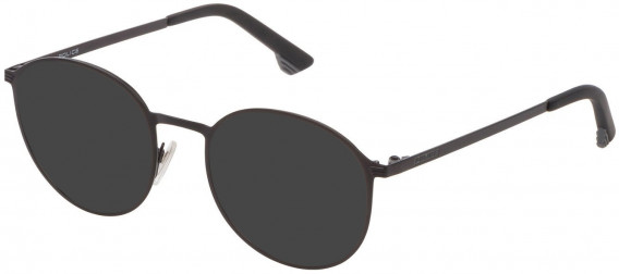 Police VK554 sunglasses in Semi Matt Black