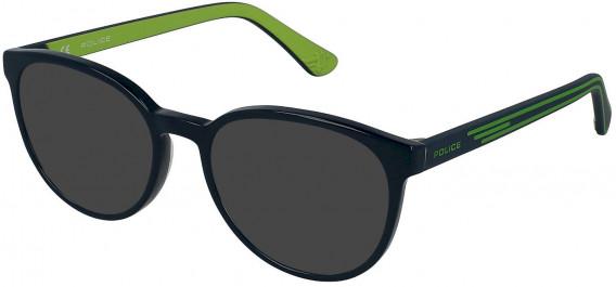 Police VK081 sunglasses in Shiny Full Petroleum