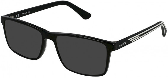 Police VK080 sunglasses in Shiny Black