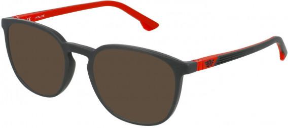 Police VK079 sunglasses in Full Matt Grey