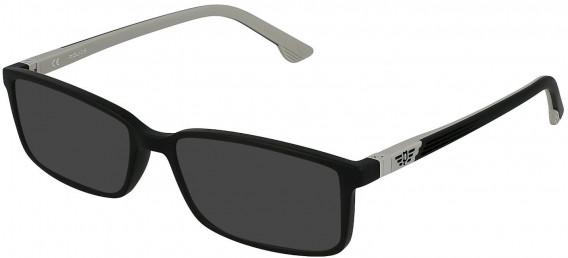 Police VK078 sunglasses in Matt Black