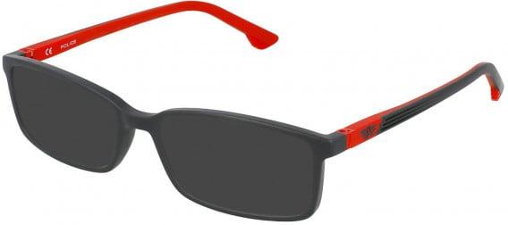 Police VK078 sunglasses in Full Matt Grey