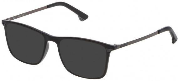 Police VK065 sunglasses in Shiny Black