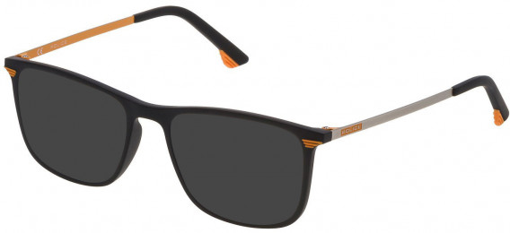 Police VK065 sunglasses in Matt Black