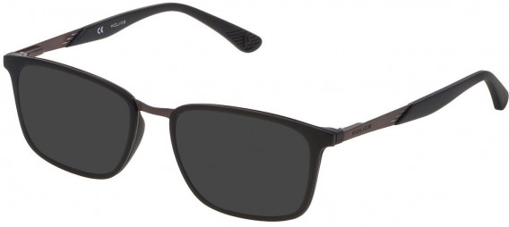 Police VK063 sunglasses in Matt Black