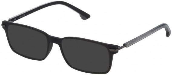 Police VK060 sunglasses in Matt Black
