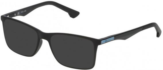 Police VK057 sunglasses in Matt Black