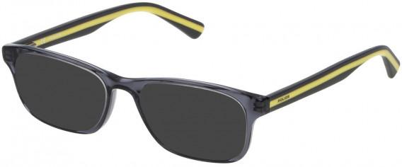 Police VK050 sunglasses in Shiny Asphalt Grey