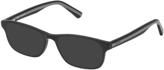 Police VK050 sunglasses in Matt/Sandblasted Black