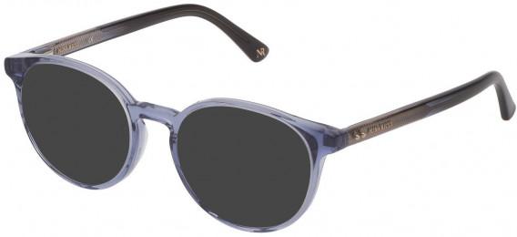 Nina Ricci VNR235 sunglasses in Shiny Transparent Azure