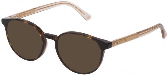 Nina Ricci VNR235 sunglasses in Shiny Dark Havana
