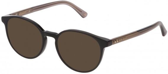 Nina Ricci VNR235 sunglasses in Shiny Black