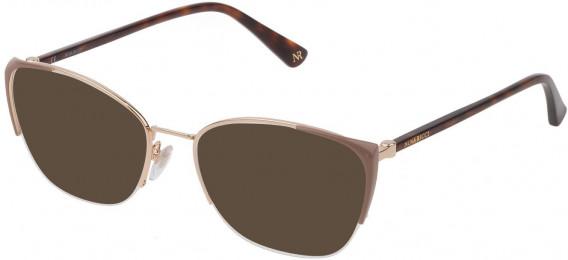 Nina Ricci VNR232 sunglasses in Shiny Rose Gold/Coloured