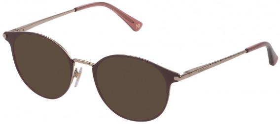 Nina Ricci VNR231 sunglasses in Shiny Camel/Coloured
