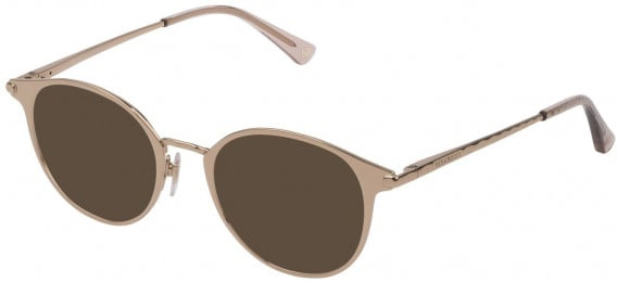 Nina Ricci VNR231 sunglasses in Shiny Light Rose Gold