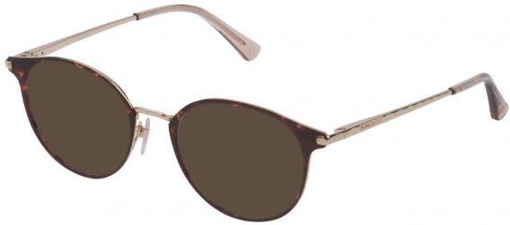 Nina Ricci VNR231 sunglasses in Shiny Light Gold/Coloured