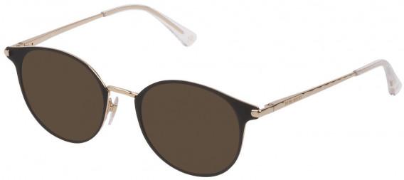 Nina Ricci VNR231 sunglasses in Rose Gold/Semi Matt Black