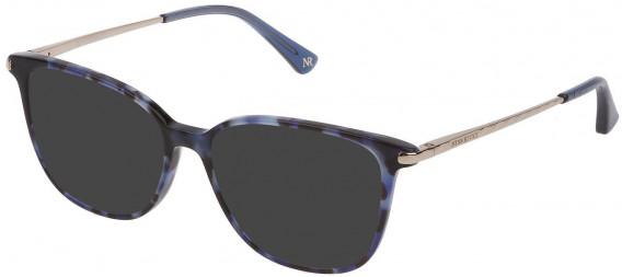 Nina Ricci VNR230 sunglasses in Shiny Blu Havana