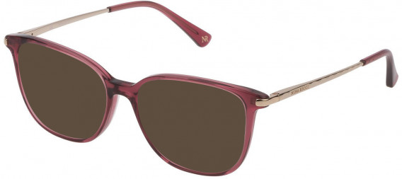 Nina Ricci VNR230 sunglasses in Shiny Transparent Fuxia