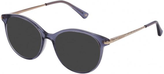 Nina Ricci VNR229 sunglasses in Shiny Asphalt Grey
