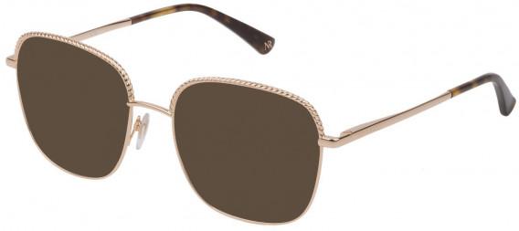 Nina Ricci VNR228 sunglasses in Shiny Rose Gold