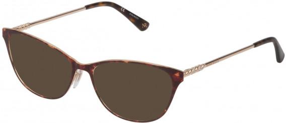 Nina Ricci VNR227S sunglasses in Shiny Rose Gold/Havana