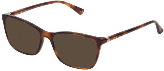 Nina Ricci VNR190 sunglasses in Shiny Dark Havana