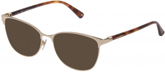 Nina Ricci VNR188 sunglasses in Shiny Rose Gold