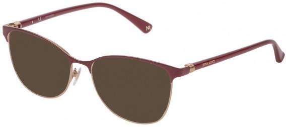Nina Ricci VNR188 sunglasses in Shiny Light Rose Gold