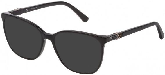 Nina Ricci VNR182S sunglasses in Shiny Black