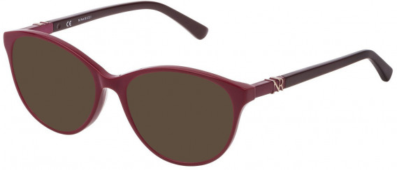 Nina Ricci VNR181 sunglasses in Shiny Full Cherry Red