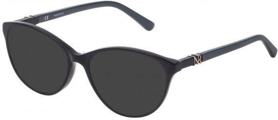 Nina Ricci VNR181 sunglasses in Shiny Full Petroleum
