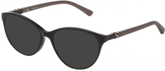 Nina Ricci VNR181 sunglasses in Shiny Black