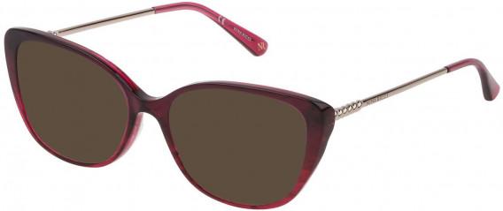 Nina Ricci VNR173 sunglasses in Gradient Bordeaux