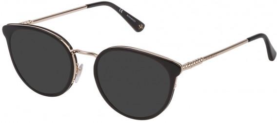 Nina Ricci VNR171 sunglasses in Shiny Black