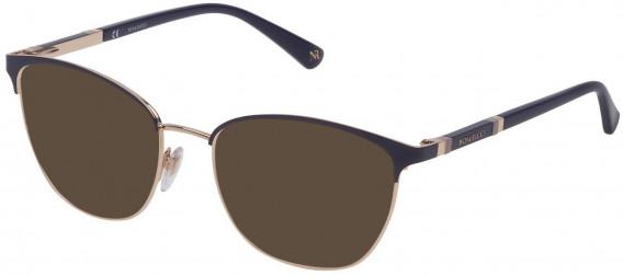 Nina Ricci VNR152 sunglasses in Shiny Light Gold/Coloured