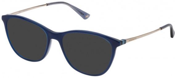 Nina Ricci VNR146 sunglasses in Blue Top/Blue