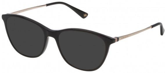 Nina Ricci VNR146 sunglasses in Shiny Black