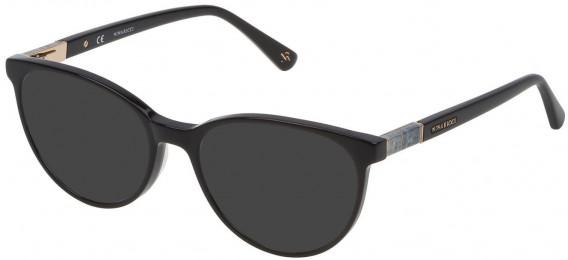 Nina Ricci VNR145 sunglasses in Shiny Black