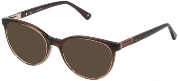 Nina Ricci VNR145 sunglasses in Gradient Brown