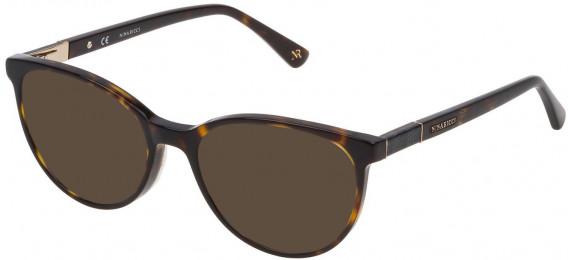 Nina Ricci VNR145 sunglasses in Shiny Dark Havana