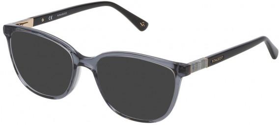 Nina Ricci VNR144 sunglasses in Shiny Transparent Grey